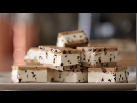 Chocolate Chip Ice Cream Sandwiches