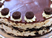 Problem Solved With No-Bake Oreo Cheesecake