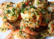Sizzling Sauteed Garlic Shrimp Superstar