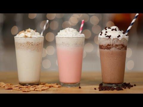 Starbuck's Secret Menu Frappuccinos