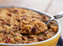 Streuseled Sweet Potato Casserole Is A Holiday Hit