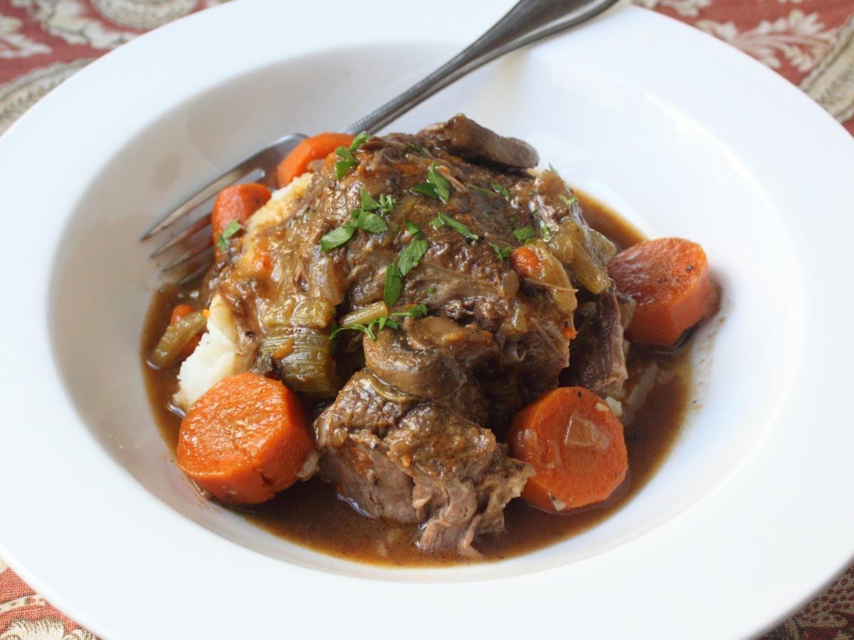 Succulent Slow Cooker Beef Pot Roast