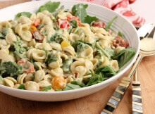 BLT Pasta Salad with Avocado Ranch Dressing Is A Winner